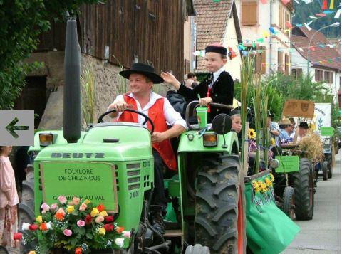 fête du village GRIESBACH au VAL