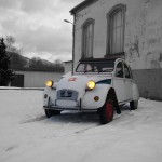 la 2CV peace and love