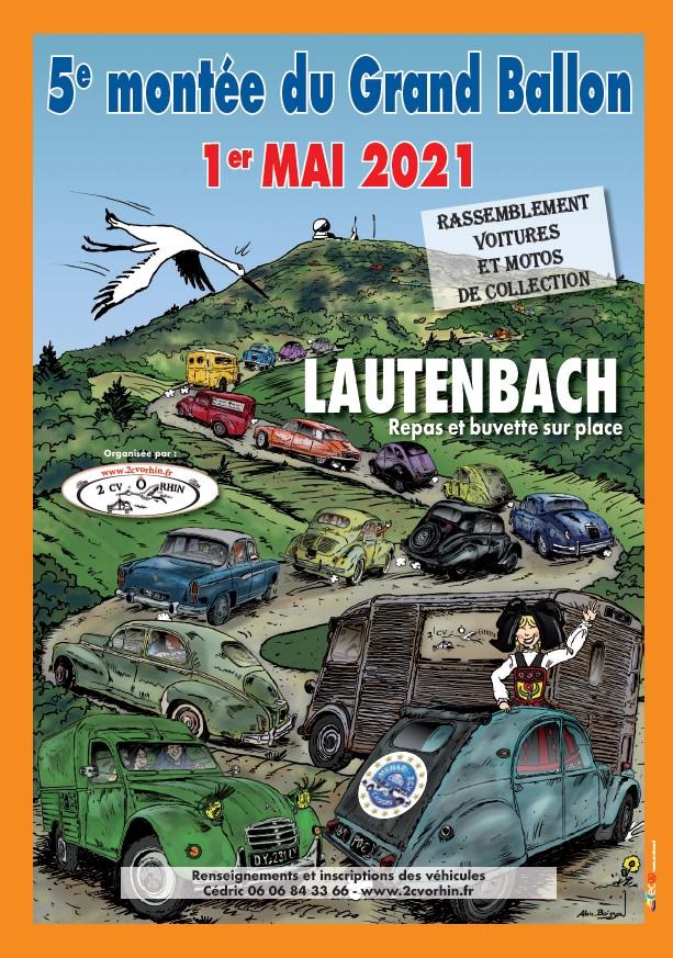 Affiche 5ème montée du Grand Ballon 2021
